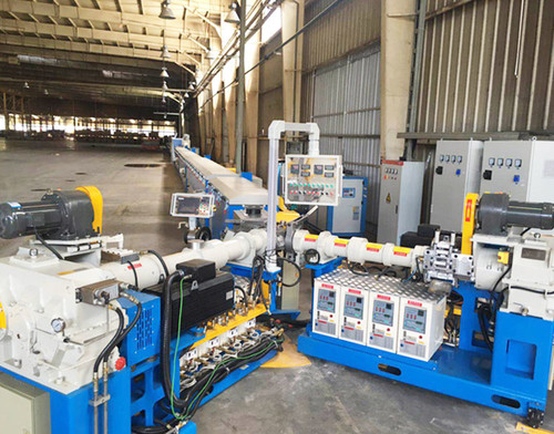 rubber 3 co-extrusion and microwave curing production line