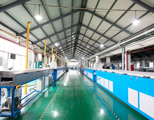 rubber single extrusion and microwave curing production line