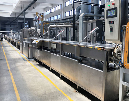 Rubber Salt bath curing production line(LCM)